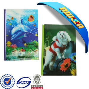 High Quality 3D Lenticular Cute Photo Spiral Notepads pictures & photos
