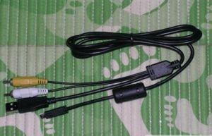 Camera USB AV Cable UC-E6 for Nikon