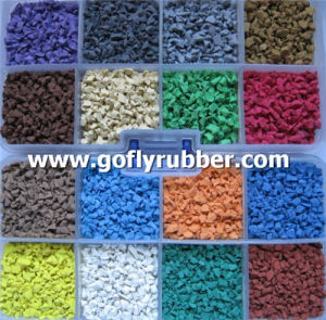 Colorful EPDM Rubber Granules