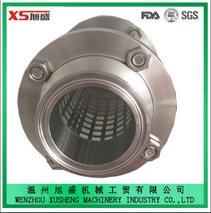 25.4mm Stainless Steel Sanitary Hygienic Triclamp Sight Glass with Protection Sleeve pictures & photos
