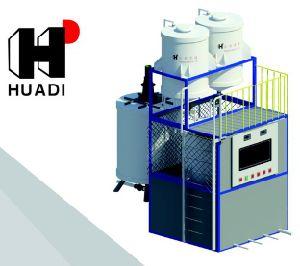 Automatic Blending and Compounding Unit for Concrete Admixtures