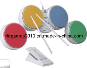 3 in 1 (for PS2, PS3 and Wii) Desktop Drum /Game Accessory (SP3518)