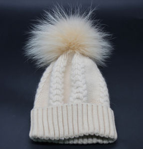 Wholesale Winter and Autumn Warm Wool Jersey Crimping Women′s Hat pictures & photos