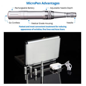 Derma Microneedle Machine Pen for Skin Beauty Dermapen Equipment pictures & photos