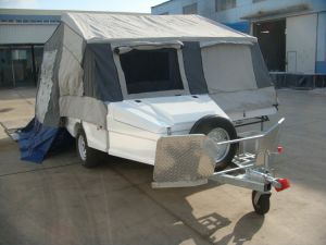 Double Beds Fiberlgass Camping Trailer (LH-FC-11A) pictures & photos