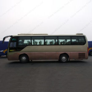 Large Passenger Bus Size Color Design 47 Seats White Bus pictures & photos