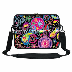 """Heat Transfer Printing Custom Neoprene Laptop Bags with The Handle for 15"""" Laptop pictures & photos"""