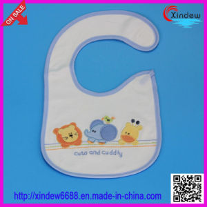 100% Cotton Baby′s Emboridered Bib pictures & photos