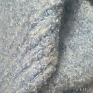 Boucle Yarn with Fluffy Look in Acrylic/Wool Blended pictures & photos