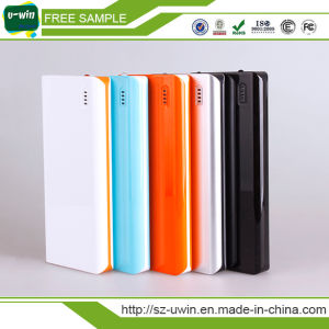 2017 New Products Built-in Type C Cable 10000mAh Power Bank pictures & photos
