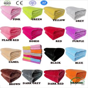Hot Selling Polar Fleece Blanket Reach Standards pictures & photos