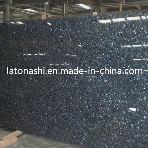 Cheap Price Blue Pearl Color Granite Stone Slab for Tombstone pictures & photos