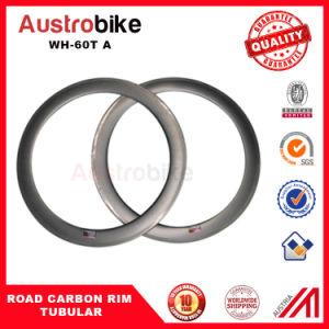 Cheap Carbon Road Bicycle Tubular Rim 60t Wheelset Carbon Fiber Road Bike pictures & photos
