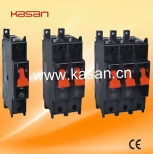 Sx 1p, 2p, 3p Black Hydraulic Magnetic Circuit Breaker pictures & photos