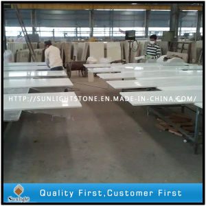Artificial White Artificial Quartz Stone for Kitchen Countertops pictures & photos