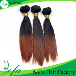 Sensational Ombre Hair Weave Virgin Brazilian Human Hair Extension pictures & photos