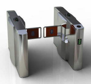 Intelligent Security Half Height Swing Barrier Gate Turnstile pictures & photos