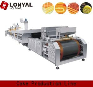 Full Automatic Swiss Roll Prduction Line