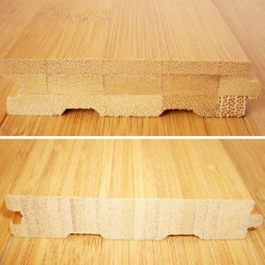 Natural Color Horizontal Solid Bamboo Flooring pictures & photos