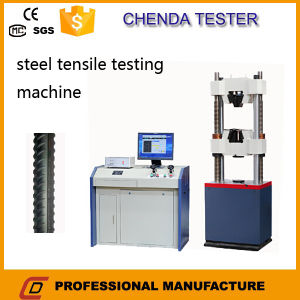 Waw600b Hydraulic Universal Tensile Compression Bending Testing Machine +Lab Equipment