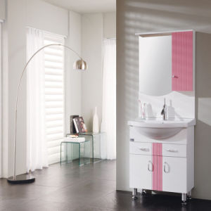 PVC Bathroom Cabinet for Girl′s Living Room pictures & photos