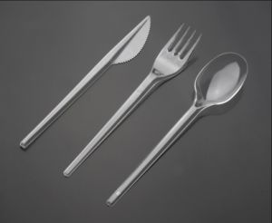 Airline Transparent PS Plastic Cutlery pictures & photos