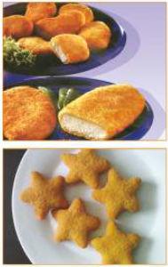 Automatic Chicken Nuggets Breading Machine Sxj600-VI pictures & photos