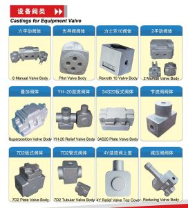 Car Parts Manhole Covers Harrow Teeth Cast Resin Sand Casting pictures & photos