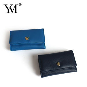 Customized Men Leather Wallet Foldable pictures & photos