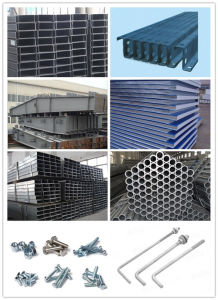 New Design High Quality Steel Structure Warehouse (ZY379) pictures & photos