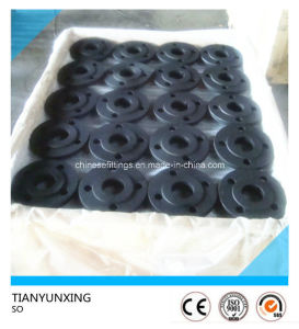 Slip on So Carbon Steel Flanges with Black Painting pictures & photos