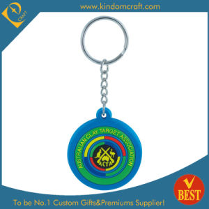 Hot Sale Australia Branded Rubber Soft PVC Keychain (KD0796) pictures & photos