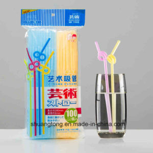 Wholesale Cheap Dinnerware Disposal Plastic Straw pictures & photos