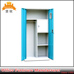 India Home Standard Steel Iron Clothes Cupboard, Bedroom Wardrobe Cupboard pictures & photos