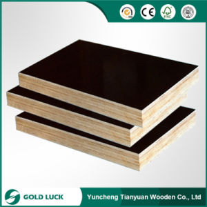 Black Film 3/4′ Plywood, Concrete Plywood for Construction pictures & photos