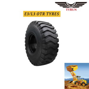 9.00-16 E-3/L-3 Loader Tyre OTR Tyre Grader Tyres off-The-Road Tire pictures & photos