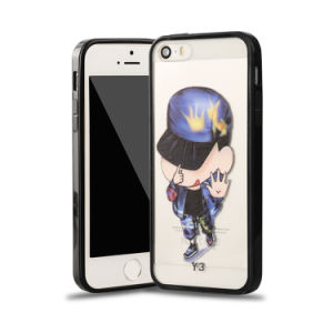 Factory Price Cute Cartoon Silicon Phone Case for iPhone 4G/5g/6g