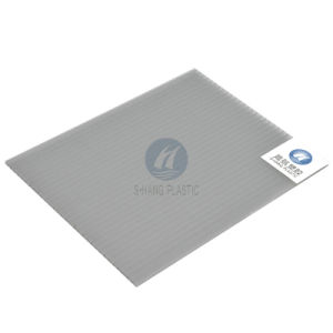 Gray Polycarbonate Hollow Sheet for Greenhouse pictures & photos