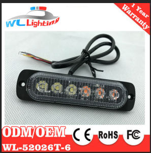 6W Traffic Warning Auto Zone Strobe Light pictures & photos