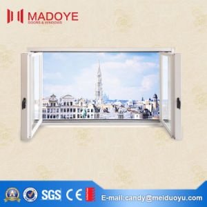 European Style Folding Window with Tempered Glass pictures & photos
