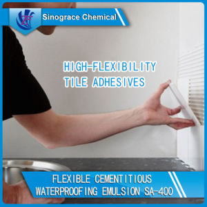 Waterproofing Styrene Acrylic Copolymer Emulsion for Cements pictures & photos