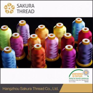 Eco-Friendly 100% 150d Viscose Monofilament Embroidery Thread pictures & photos