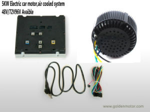 72V 5kw Electric Motorcycle Motor Drive Kit with Controller, Air Cooling pictures & photos