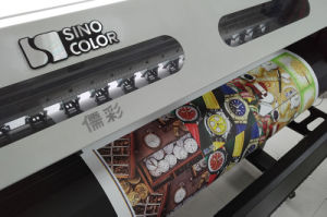 1.8m Sinocolor Sj-740 Ecosolvent Printer with Epson Dx5 / 7/8 Heads pictures & photos