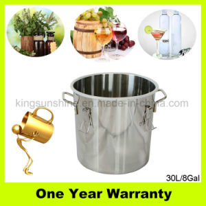 30L/8gal Stainless Steel Moonshine Still Home Brew Equipment for Distilling Water pictures & photos