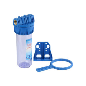 10′′ Water Filter Housing with Replacement Cartridge pictures & photos