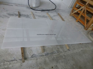 Hot Sale of Natural China Pure White Marble Tile/Slab/Steps/Countertop pictures & photos