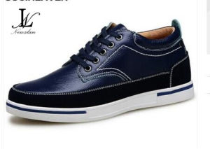 Men′s Fashionable Leather Casual Shoes (LT-002) pictures & photos