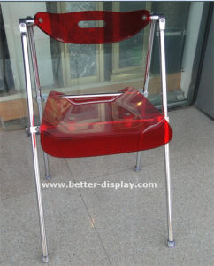 Custom Colorful Plastic Chair (BTR-3014) pictures & photos