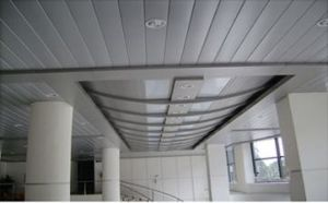 Anti-Distortion Environmental Material Suspended of False Strip Ceiling pictures & photos